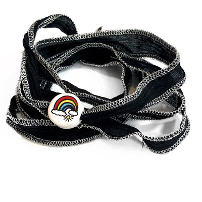 'Rainbows' Wrap Bracelet