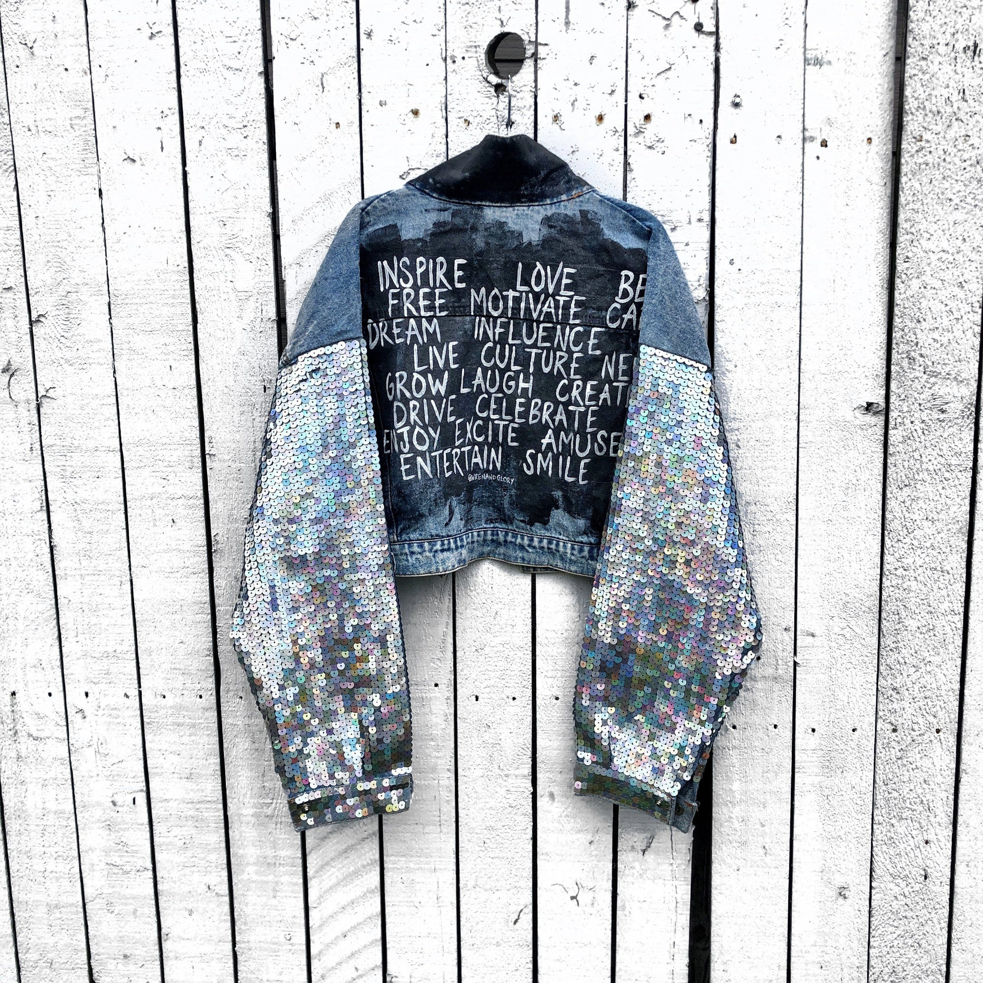 'RESOLUTION' DENIM JACKET