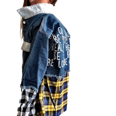 'BE COOL' DENIM JACKET