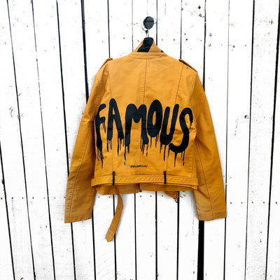 'FAMOUS' LEATHER JACKET