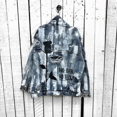 'NO RAIN' DENIM JACKET
