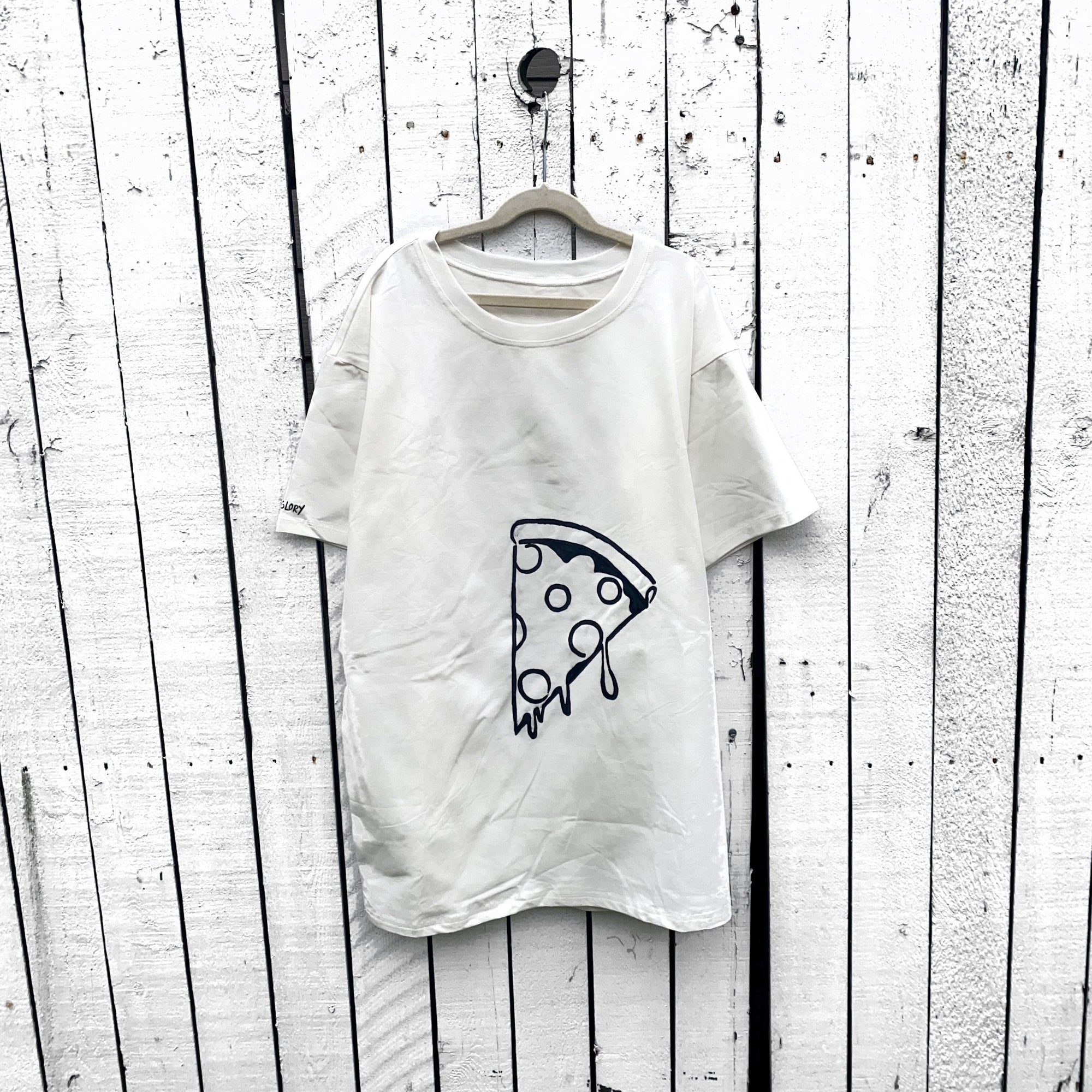 'MMM PIZZA' T SHIRT