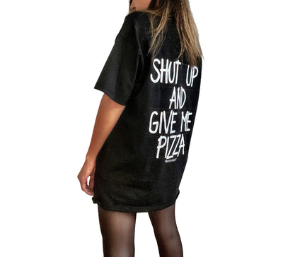'SHH PIZZA' T SHIRT
