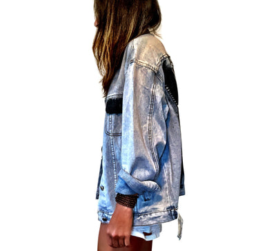 'TEQUILA TEQUILA' DENIM JACKET
