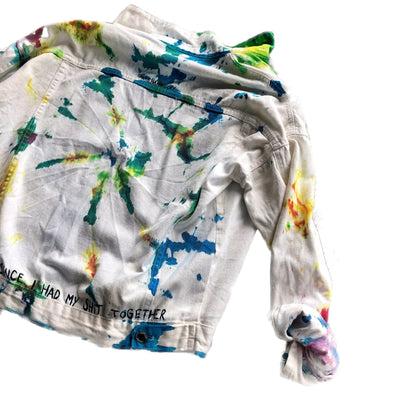 'TIE DYE FUN' DENIM JACKET
