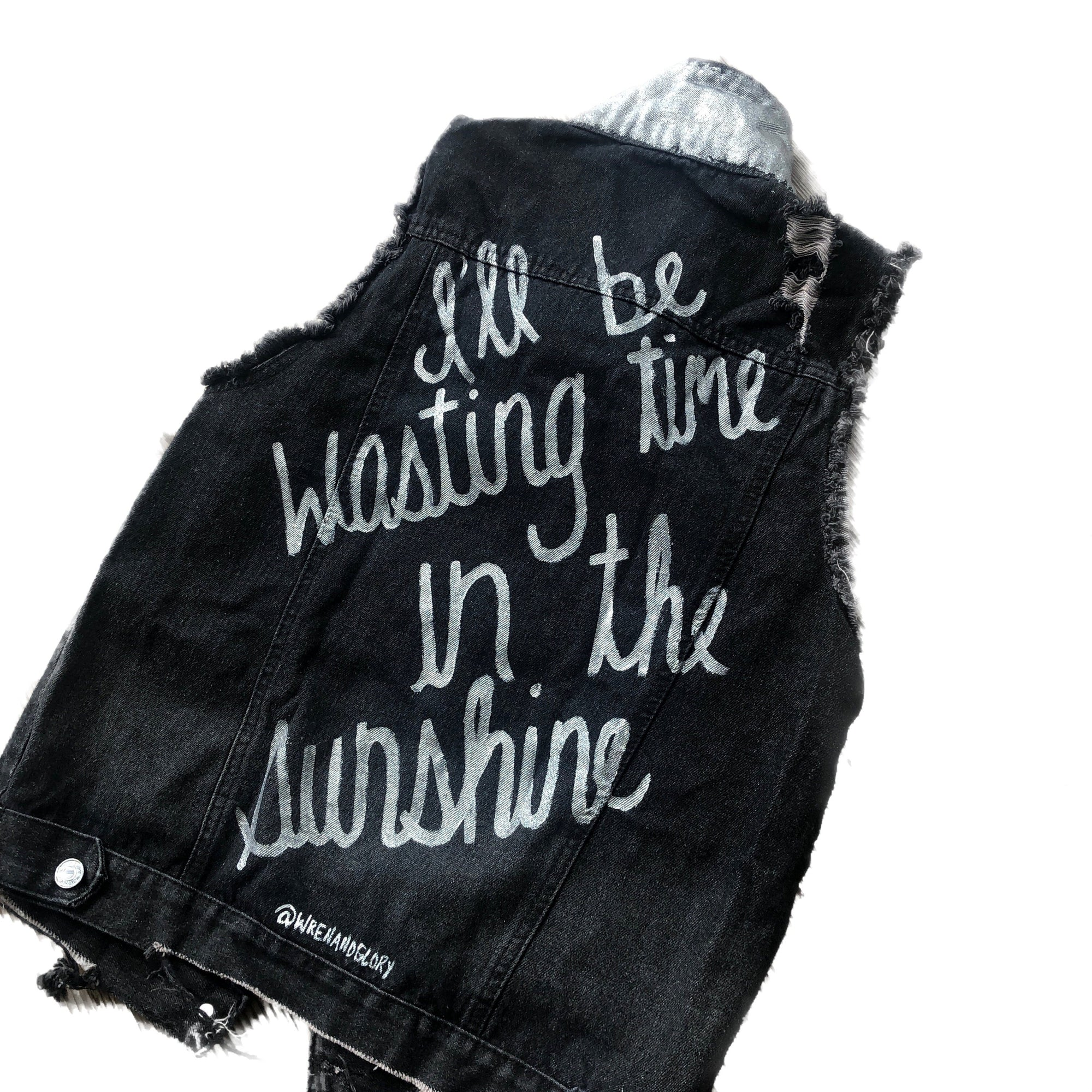 'SUMMER SUN V1' DENIM VEST
