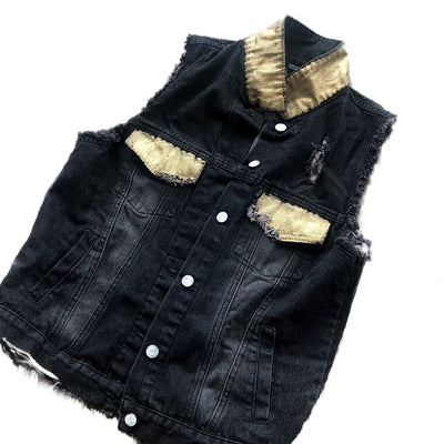 'SUMMER SUN V2' DENIM VEST
