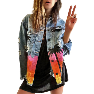 'FESTIVAL FUN' DENIM JACKET