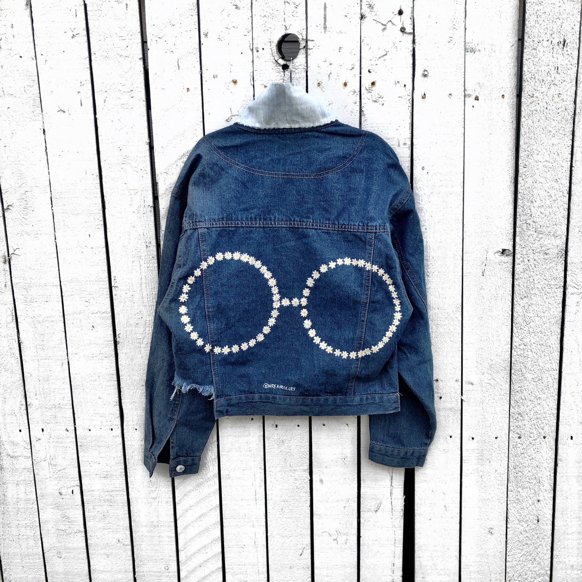 'DAISY SHADES' DENIM JACKET