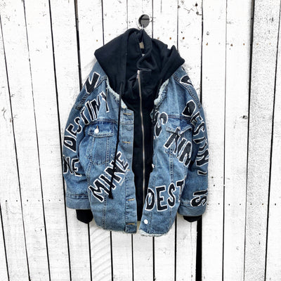 'MY DESTINY' DENIM JACKET
