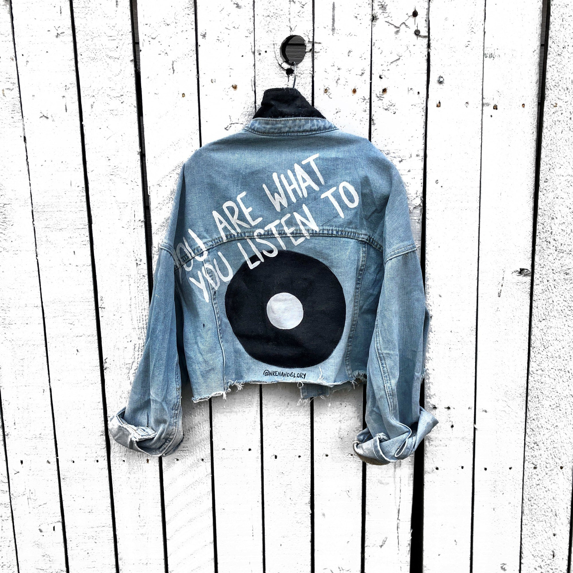'WITH THE BAND, PART 2' DENIM JACKET