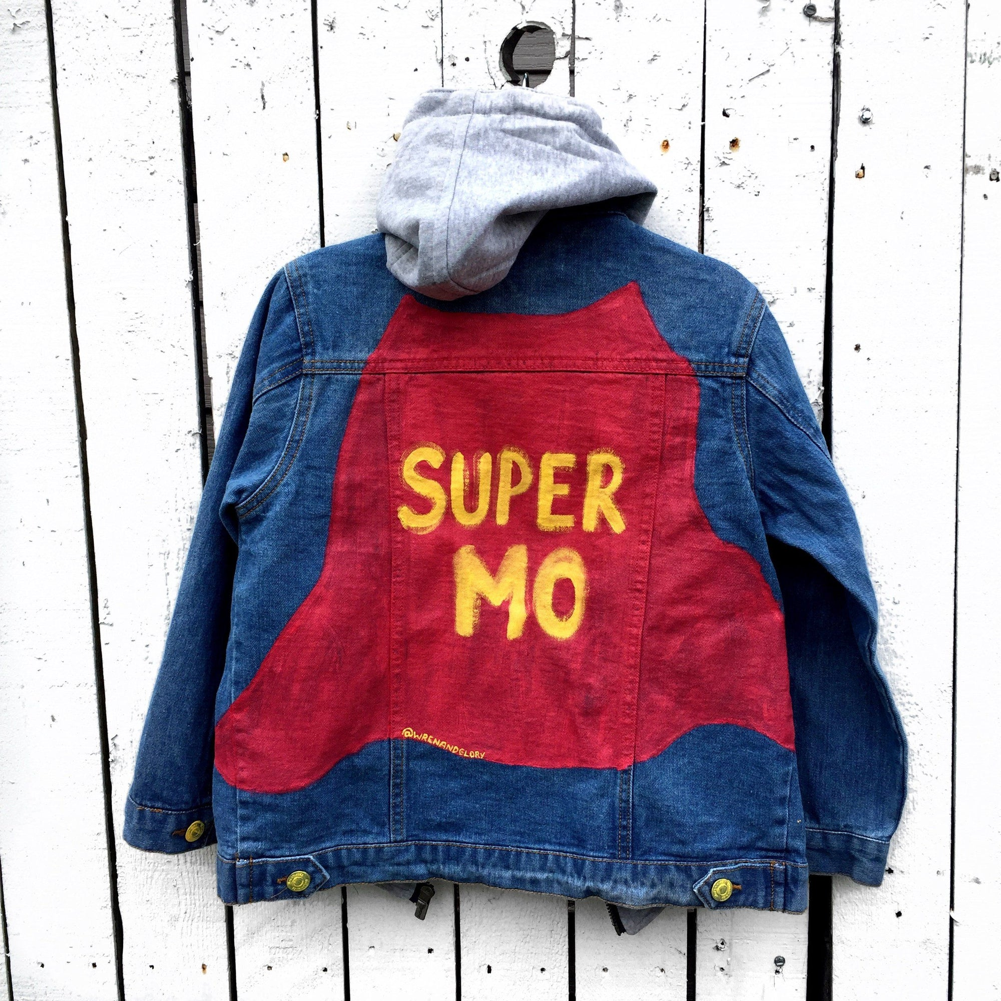 'SUPER ME' DENIM JACKET - GIRLS/BOYS