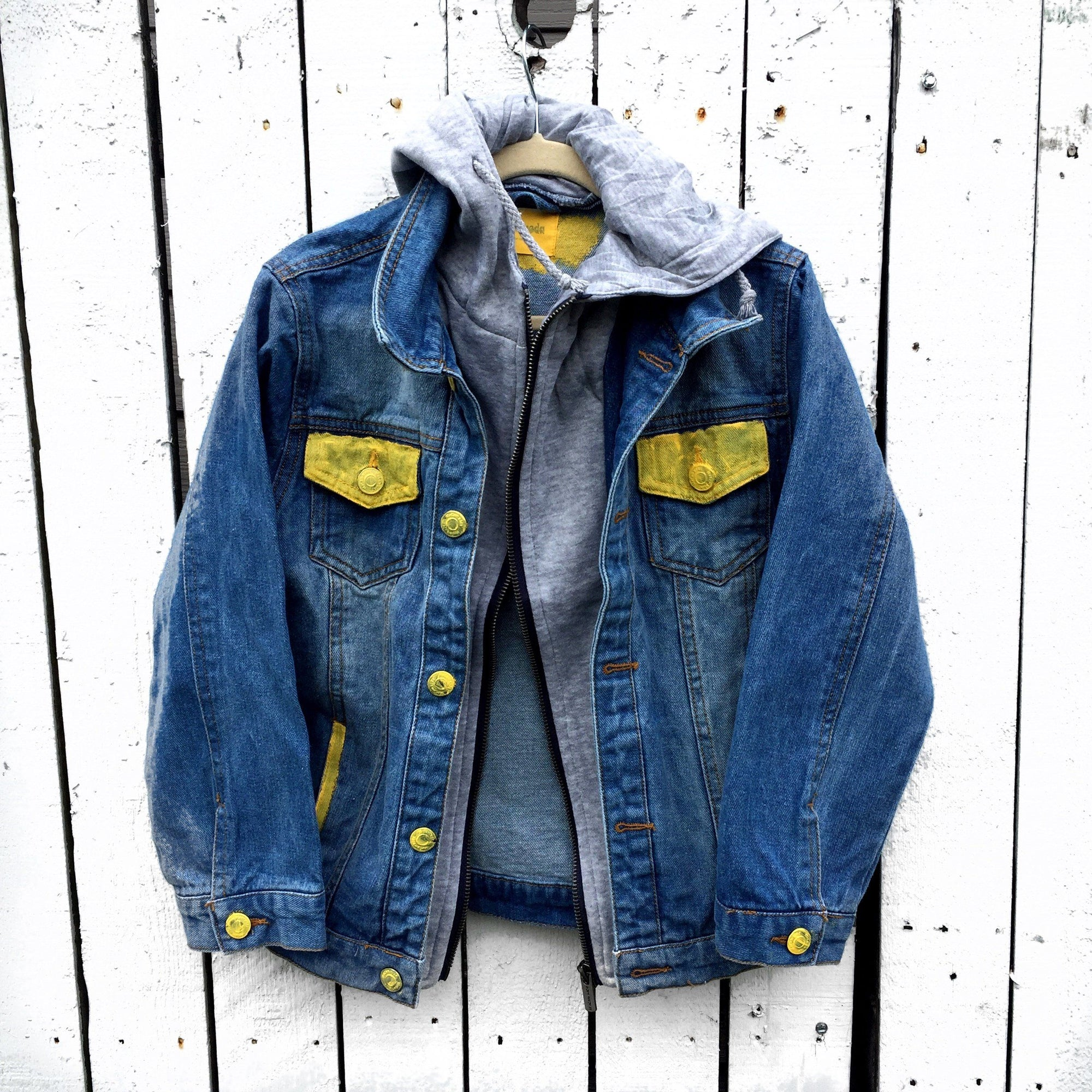 Super Me Denim Jacket Girls Boys Wren Glory