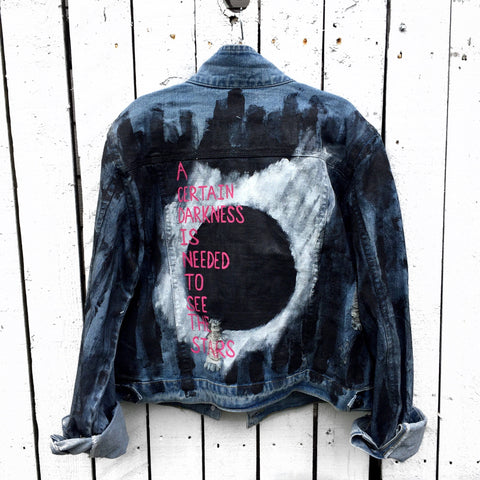 'DARKNESS' DENIM JACKET