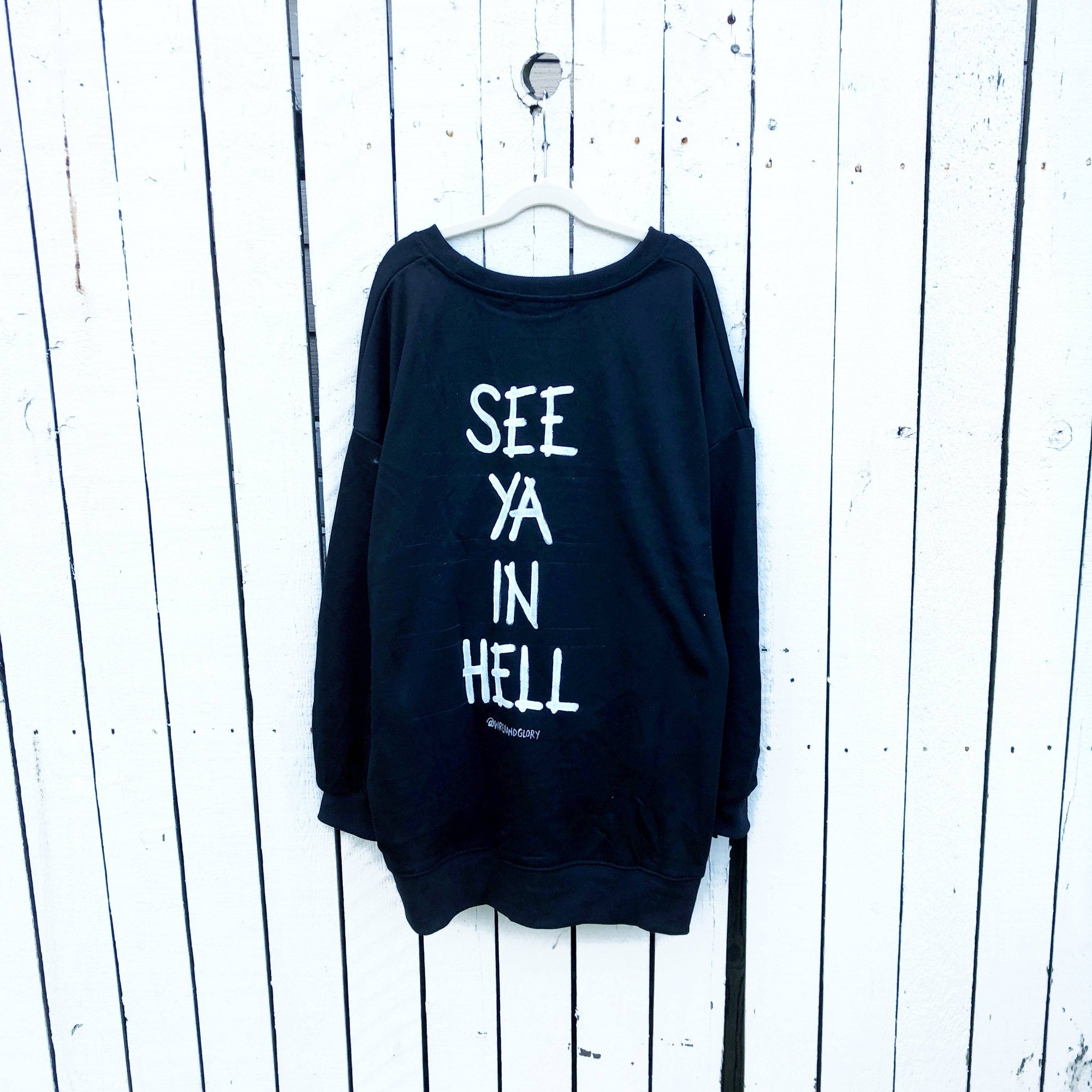 'IM A DEVIL' SWEATSHIRT