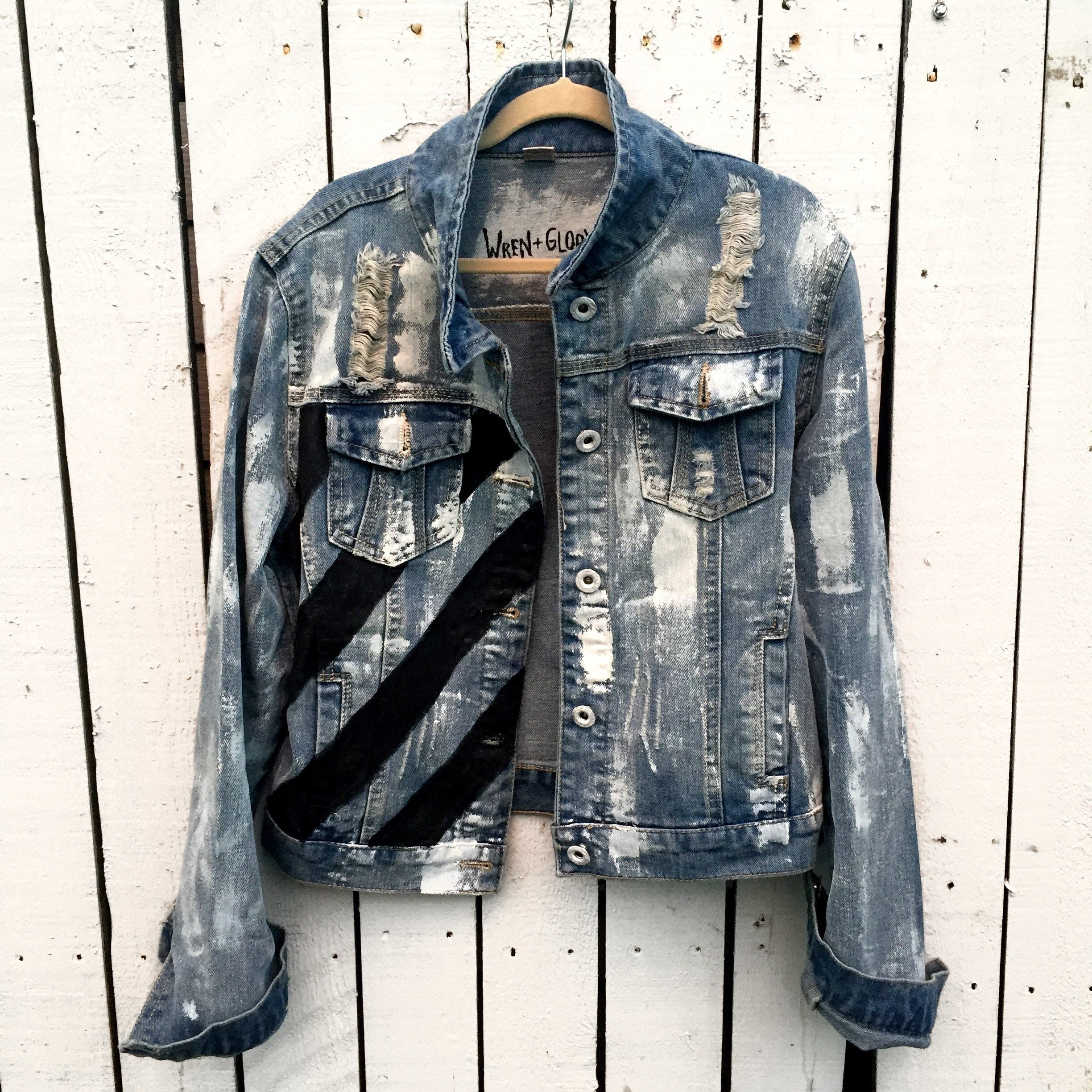 d900c9dd Powerful' Denim jacket - Wren + Glory