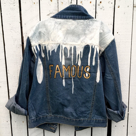 'I'm Famous' Denim Jacket