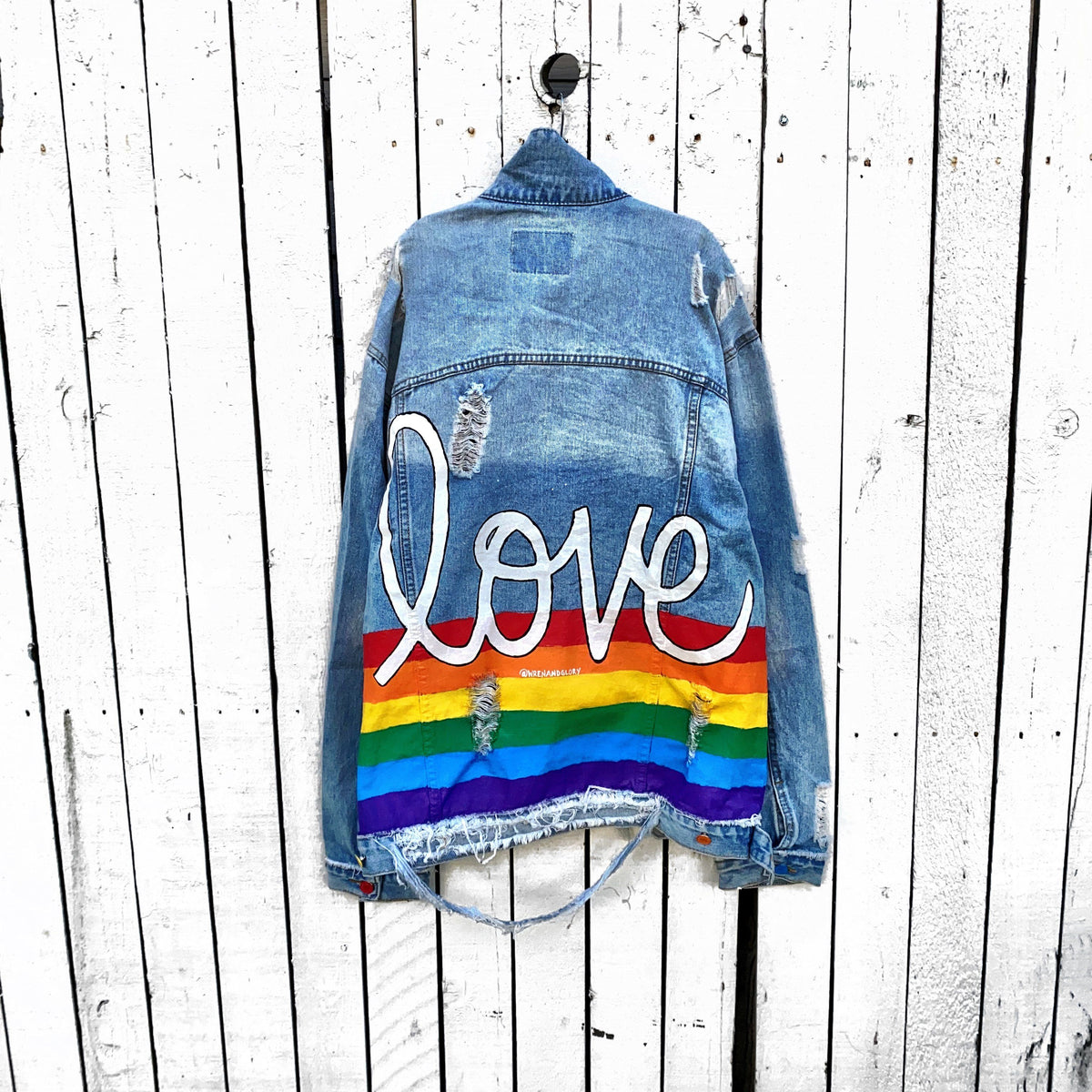 'PROUD' DENIM JACKET