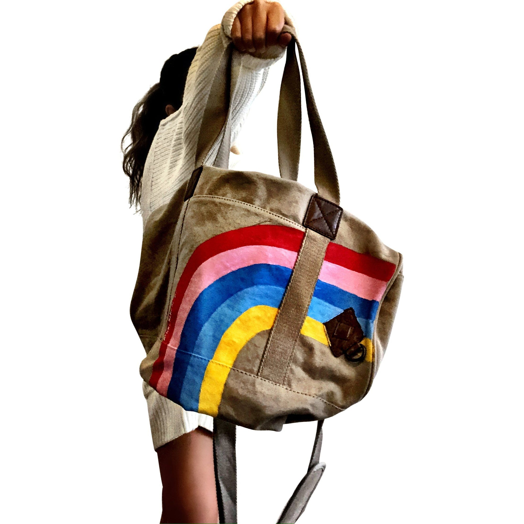 'RAINBOW' DUFFLE BAG