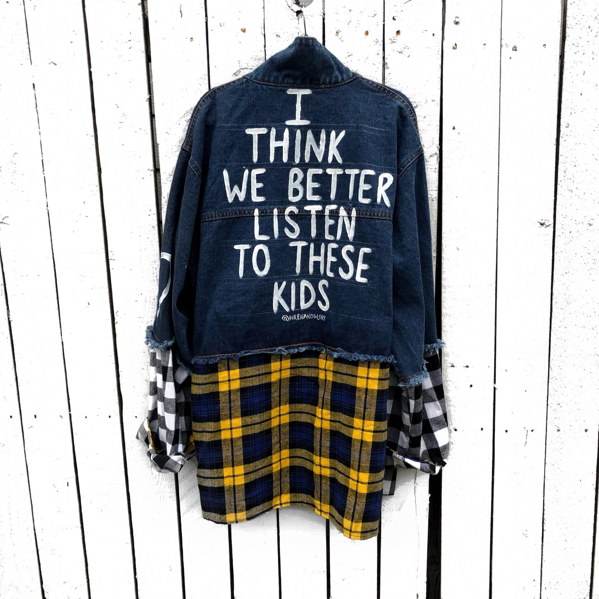 'SMART KIDS' DENIM JACKET