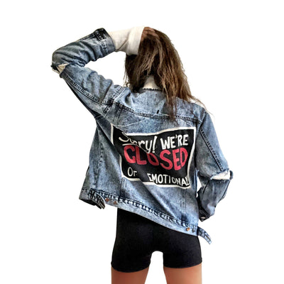 'SORRY! DENIM JACKET