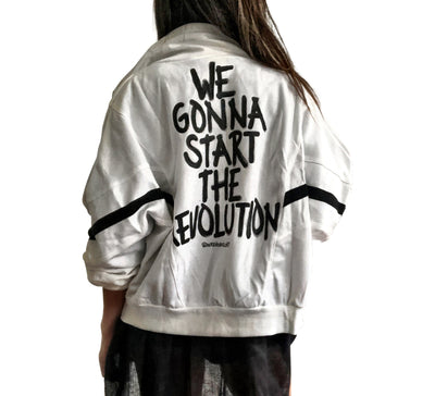 'START IT UP' SWEAT JACKET
