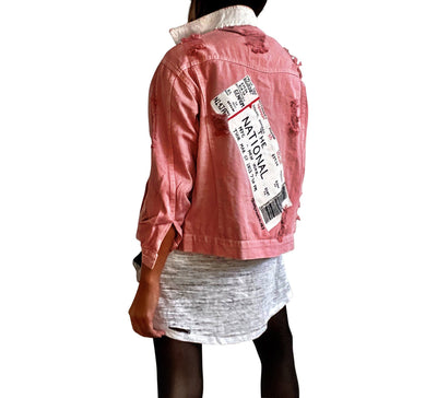 'TICKETS PLEASE' DENIM JACKET