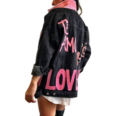 'UNIVERSAL LOVE' DENIM JACKET