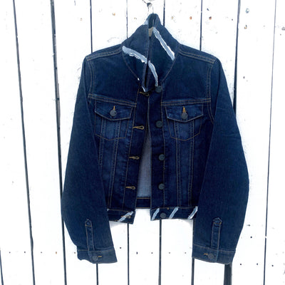 'WHAT (LITTLE) GIRLS WANT' DENIM JACKET