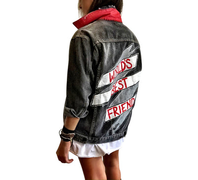 'WORLDS BEST' DENIM JACKET