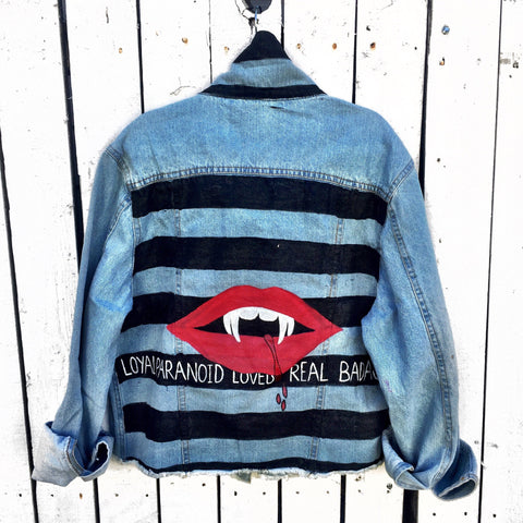 'Weird' Denim Jacket