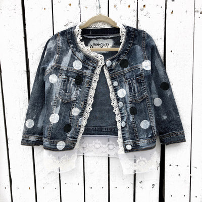 'MINNIE' Denim Jacket - Girls
