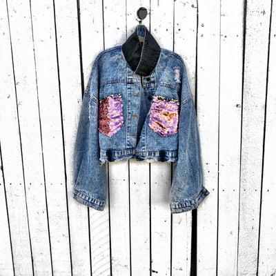 'SUNNIES' DENIM JACKET