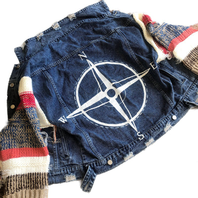'NAVIGATING' DENIM JACKET