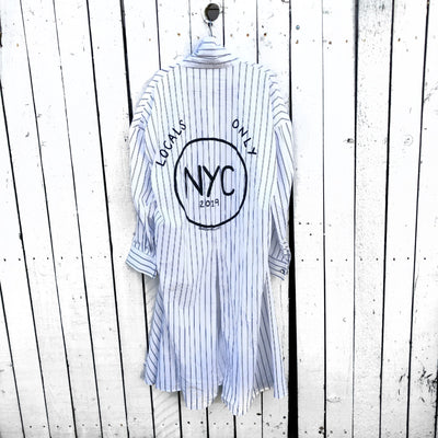 'NYC LOCAL' PAINTED SHIRT