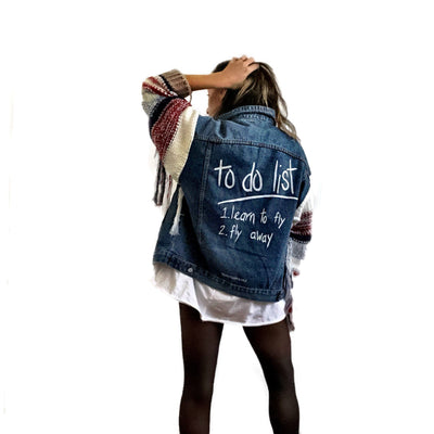 'FLYING' DENIM JACKET