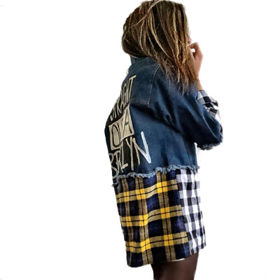 'STRAIGHT OUTTA YOUR CITY' DENIM JACKET