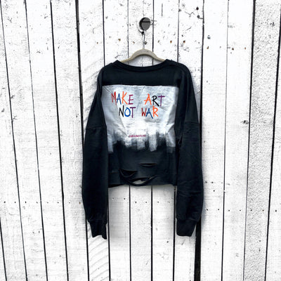 'MAKE ART' PAINTER SWEATSHIRT