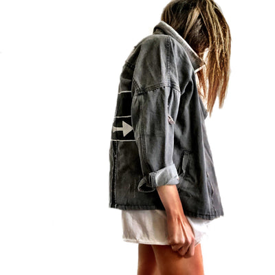 'LOST?' DENIM JACKET