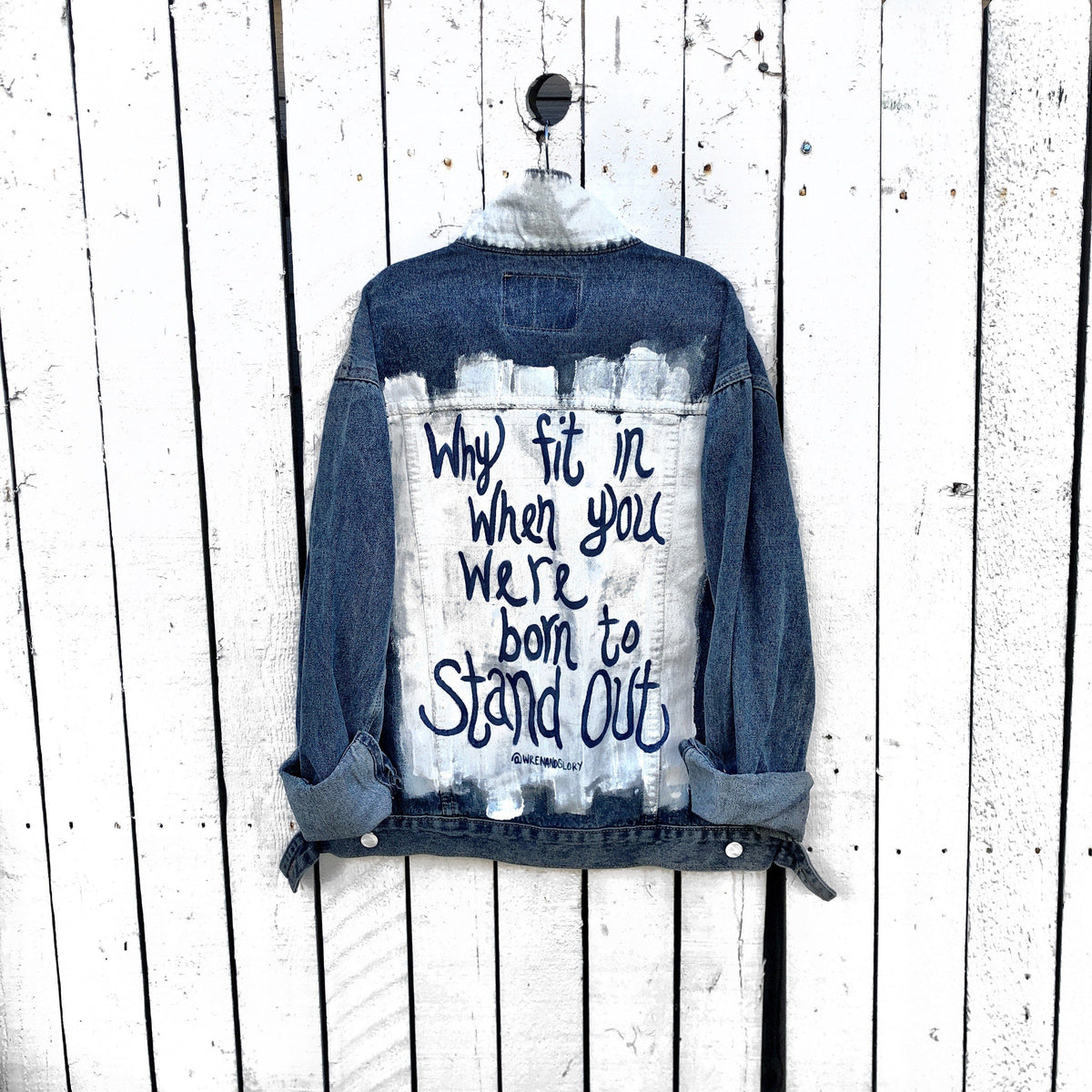 'STAND OUT' DENIM JACKET