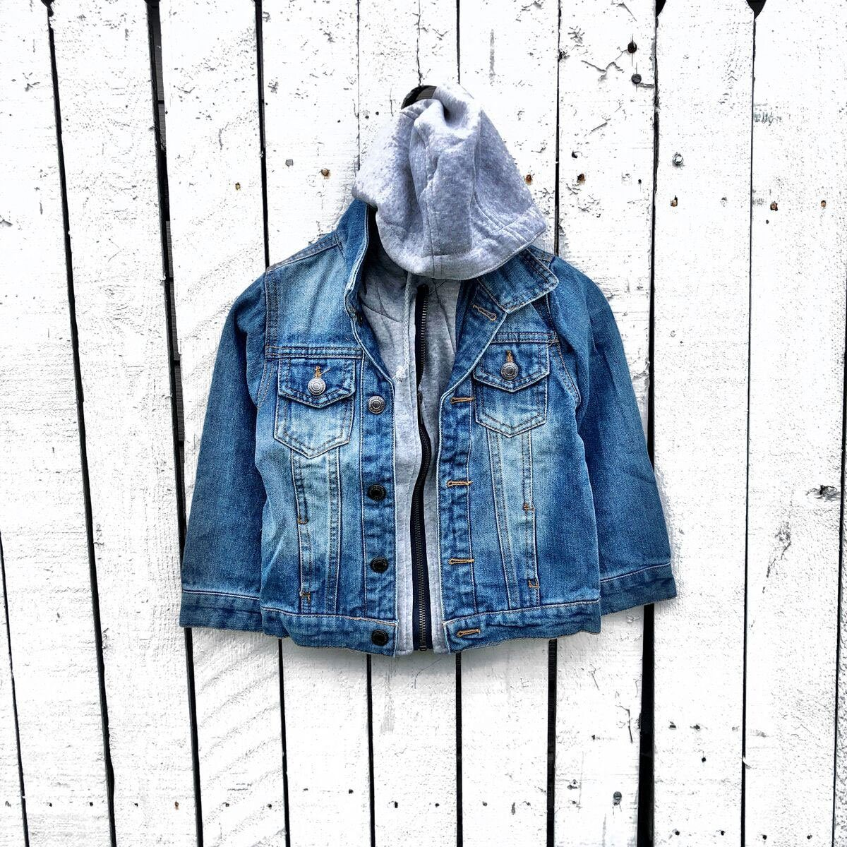 Denim with Hoodie