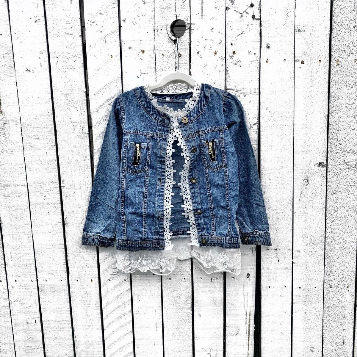 Denim with Lace