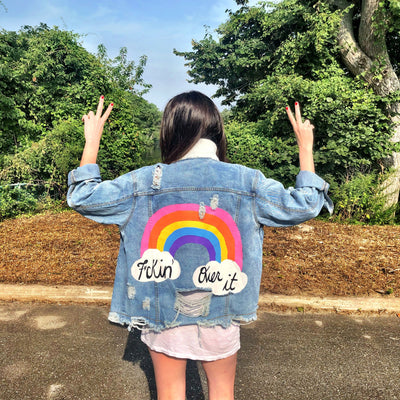 'OVER IT' DENIM JACKET