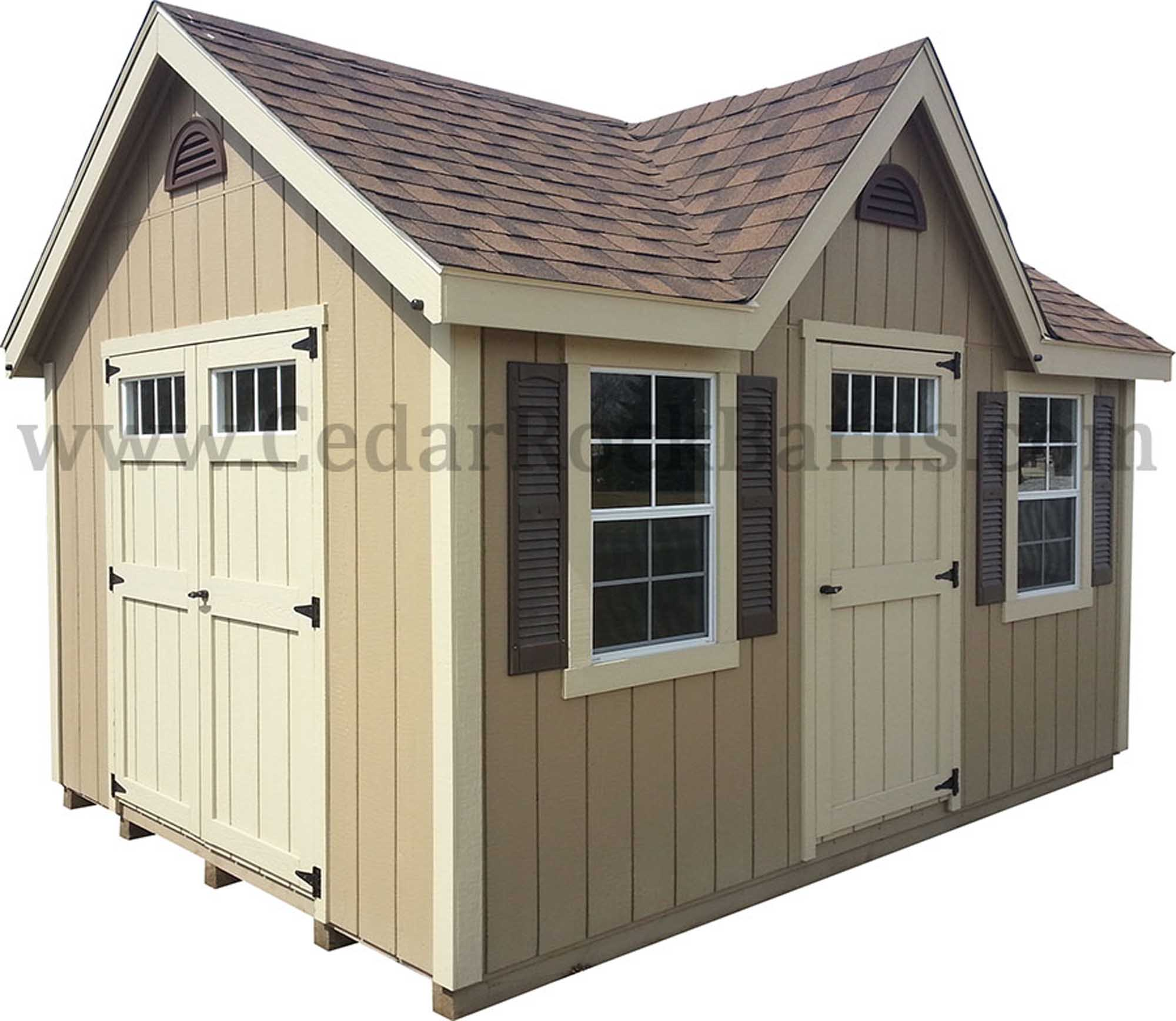 Chalet - Painted w/ Deluxe Pkg