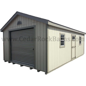 Garage - Painted w/ Deluxe Pkg