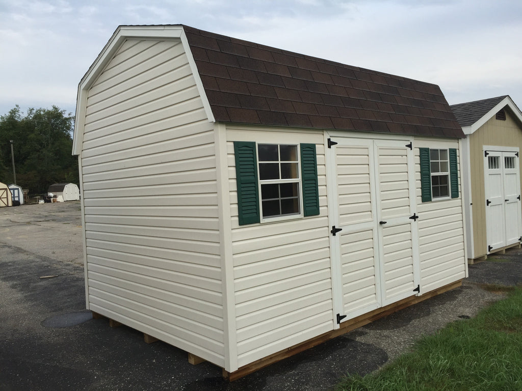 10x14 Vinyl Dutch Barn