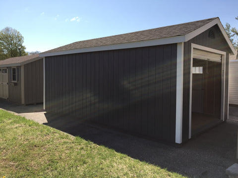 12x20 Painted Garage w/ Deluxe
