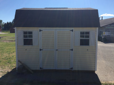 10x12 Vinyl Dutch Barn - Rental Return