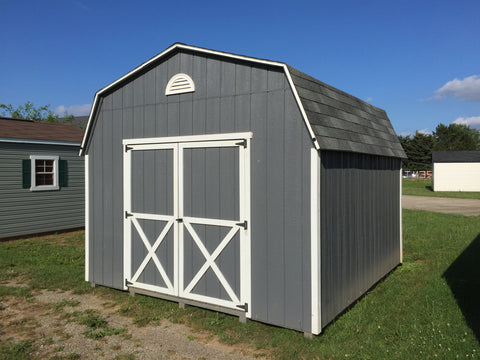 12x12 Painted High Barn Rental Return