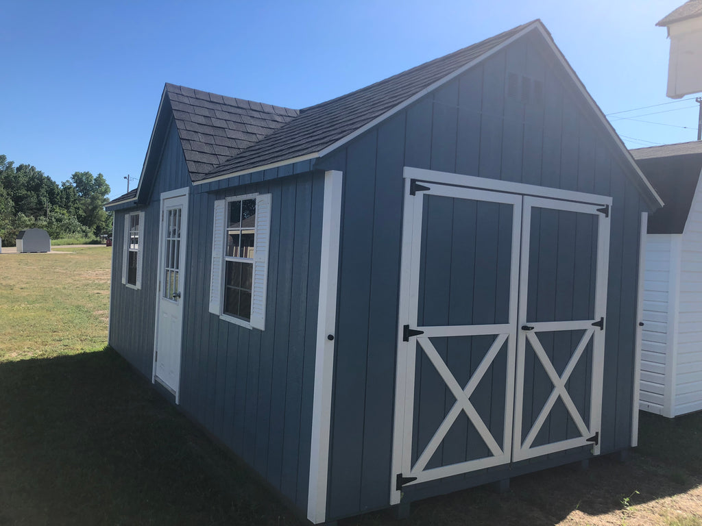 10x20 Painted Chalet